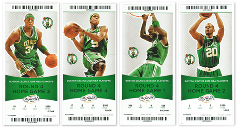 Celtics Souvenir Playoff Tickets Available - Ace Ticket ...