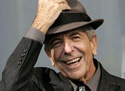 Legendary Poet and Singer Leonard Cohen Graces Boston's Wang Theatre