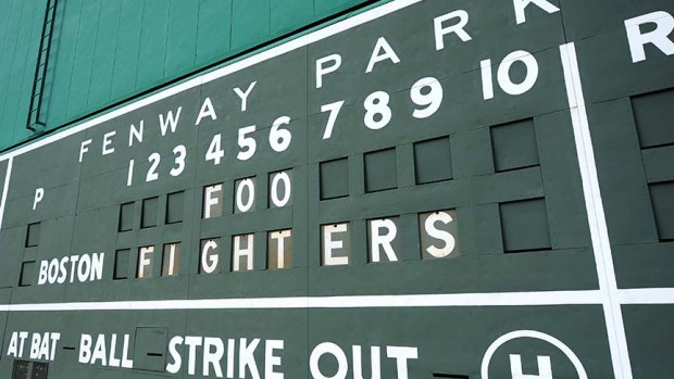 FOO FIGHTERS SCOREBOARD