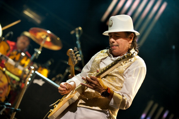 Carlos Santana Performing Live At The Montreux Jazz Festival